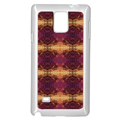 Burning Bushes Samsung Galaxy Note 4 Case (white)