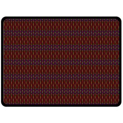Dna Red Double Sided Fleece Blanket (large)