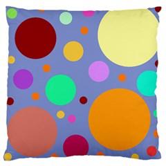 Dotty Large Cushion Case (one Side)