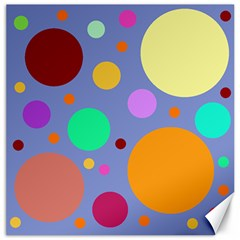 Dotty Canvas 20  X 20