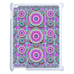 Magic Flowers From  The Paradise Of Lotus Apple Ipad 2 Case (white)