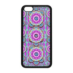Magic Flowers From  The Paradise Of Lotus Apple Iphone 5c Seamless Case (black)