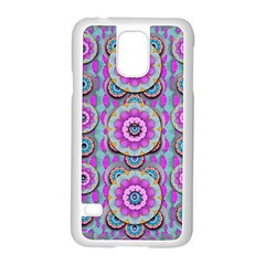 Magic Flowers From  The Paradise Of Lotus Samsung Galaxy S5 Case (white)