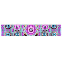 Magic Flowers From  The Paradise Of Lotus Flano Scarf (large)