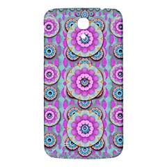 Magic Flowers From  The Paradise Of Lotus Samsung Galaxy Mega I9200 Hardshell Back Case