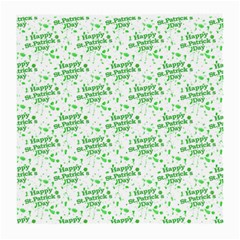 Saint Patrick Motif Pattern Medium Glasses Cloth