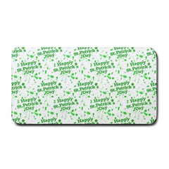 Saint Patrick Motif Pattern Medium Bar Mats