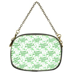 Saint Patrick Motif Pattern Chain Purses (One Side)