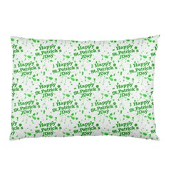 Saint Patrick Motif Pattern Pillow Case