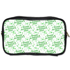 Saint Patrick Motif Pattern Toiletries Bags 2-Side