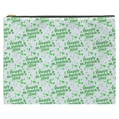 Saint Patrick Motif Pattern Cosmetic Bag (XXXL)