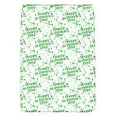 Saint Patrick Motif Pattern Flap Covers (L)