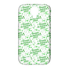 Saint Patrick Motif Pattern Samsung Galaxy S4 Classic Hardshell Case (PC+Silicone)
