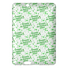 Saint Patrick Motif Pattern Kindle Fire HDX Hardshell Case