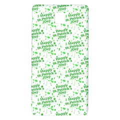 Saint Patrick Motif Pattern Galaxy Note 4 Back Case
