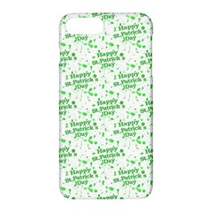Saint Patrick Motif Pattern Apple iPhone 7 Plus Hardshell Case