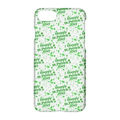 Saint Patrick Motif Pattern Apple iPhone 7 Hardshell Case