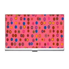 Circles Abstract Circle Colors Business Card Holders