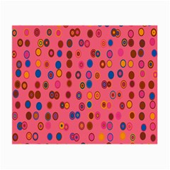 Circles Abstract Circle Colors Small Glasses Cloth