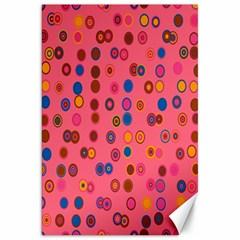 Circles Abstract Circle Colors Canvas 20  X 30