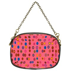 Circles Abstract Circle Colors Chain Purses (One Side)