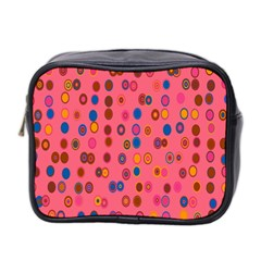 Circles Abstract Circle Colors Mini Toiletries Bag 2-Side