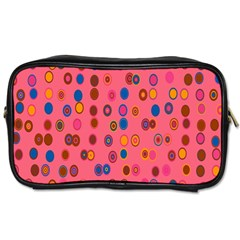 Circles Abstract Circle Colors Toiletries Bags