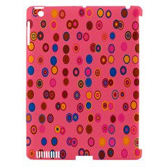 Circles Abstract Circle Colors Apple Ipad 3/4 Hardshell Case (compatible With Smart Cover)