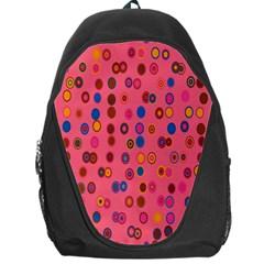 Circles Abstract Circle Colors Backpack Bag