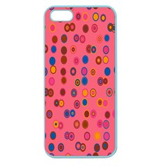 Circles Abstract Circle Colors Apple Seamless iPhone 5 Case (Color)