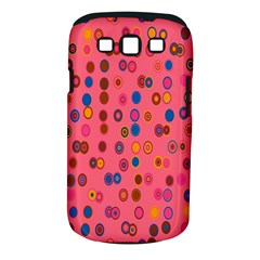 Circles Abstract Circle Colors Samsung Galaxy S III Classic Hardshell Case (PC+Silicone)