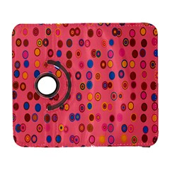 Circles Abstract Circle Colors Galaxy S3 (flip/folio)