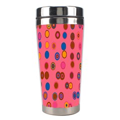 Circles Abstract Circle Colors Stainless Steel Travel Tumblers