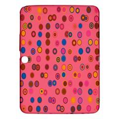 Circles Abstract Circle Colors Samsung Galaxy Tab 3 (10 1 ) P5200 Hardshell Case