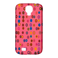 Circles Abstract Circle Colors Samsung Galaxy S4 Classic Hardshell Case (pc+silicone)