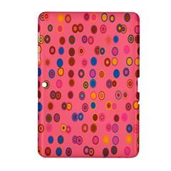 Circles Abstract Circle Colors Samsung Galaxy Tab 2 (10 1 ) P5100 Hardshell Case