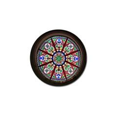 Church Window Window Rosette Golf Ball Marker