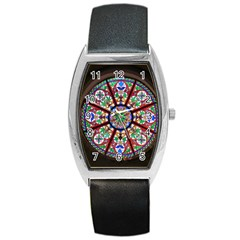 Church Window Window Rosette Barrel Style Metal Watch