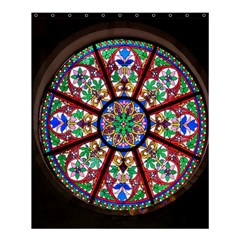 Church Window Window Rosette Shower Curtain 60  x 72  (Medium)