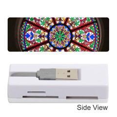 Church Window Window Rosette Memory Card Reader (Stick)