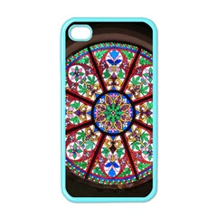 Church Window Window Rosette Apple iPhone 4 Case (Color)