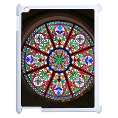 Church Window Window Rosette Apple iPad 2 Case (White)