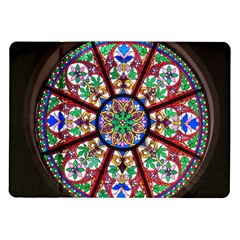 Church Window Window Rosette Samsung Galaxy Tab 10.1  P7500 Flip Case