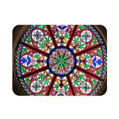 Church Window Window Rosette Double Sided Flano Blanket (mini)