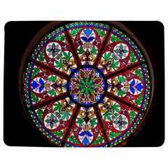 Church Window Window Rosette Jigsaw Puzzle Photo Stand (rectangular)