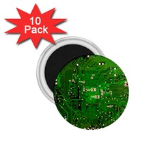 Circuit Board 1.75  Magnets (10 pack)
