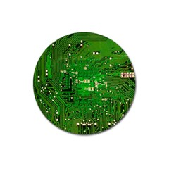 Circuit Board Magnet 3  (Round)
