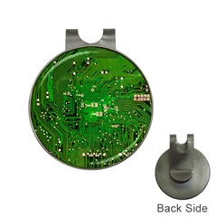 Circuit Board Hat Clips with Golf Markers
