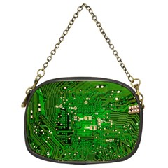 Circuit Board Chain Purses (Two Sides)
