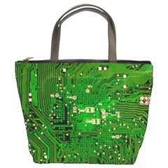 Circuit Board Bucket Bags
